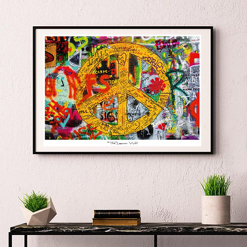 Peace sign - poster