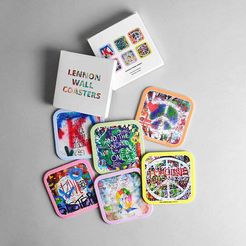 Lennon Wall coasters