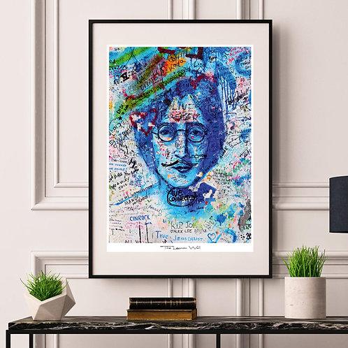 Blue Lennon - poster