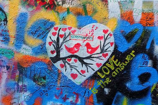 John Lennon Wall_Love is the answer.jpg