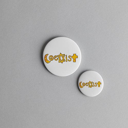 Pin - Coexist