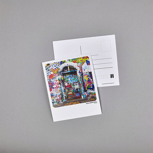 Postcard - Lennon Wall Door 2