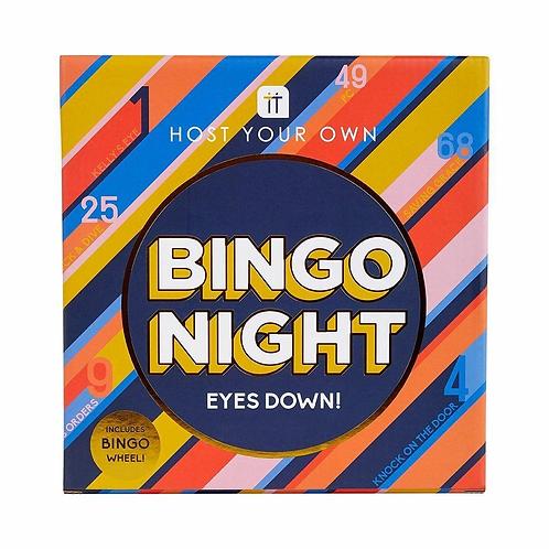 Bingo Game With Metal Bingo Wheel