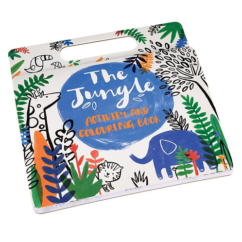 Jungle Activity Pad and Colouring Book