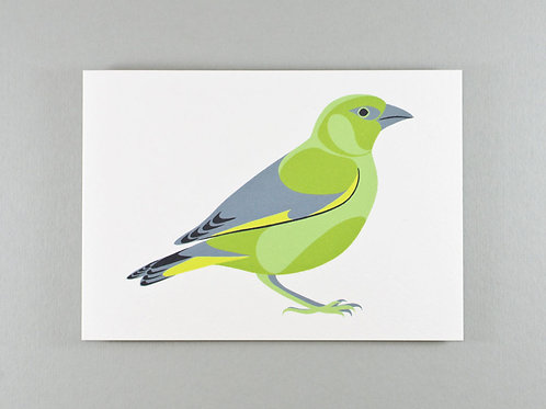 Greenfinch Card