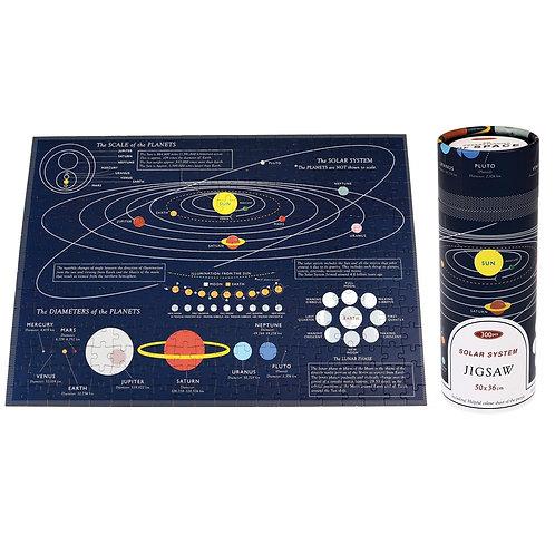 Solar System 300 Piece Puzzle