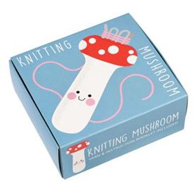 Knitting Mushroom for French knitting