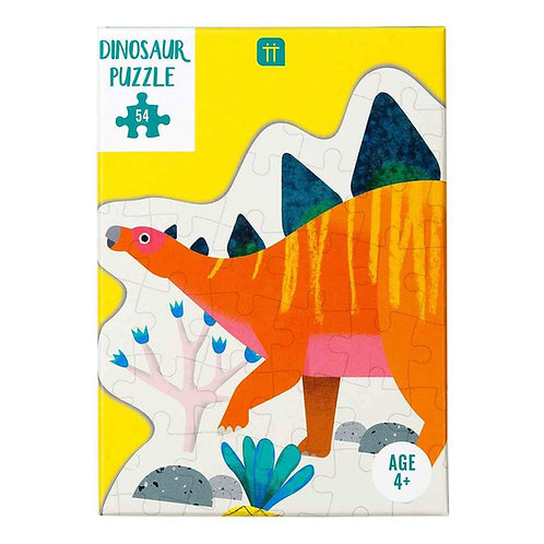 Party Dinosaur Stegosaurus Shaped Puzzles 54 Pieces
