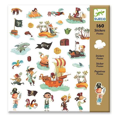 DJECO Sticker Set - Pirates