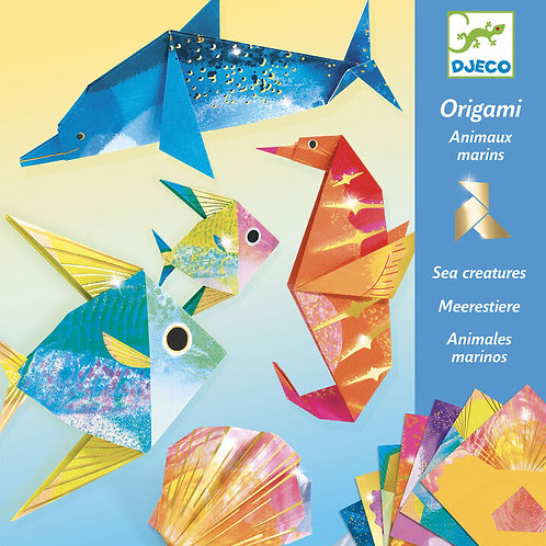 DJECO Origami Sea Creatures