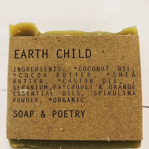 Earth Child Soap/Poetry