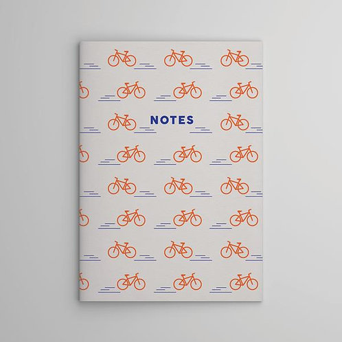 White Bicycle Notebook