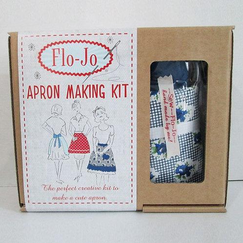 Blue Rose Apron Making Kit