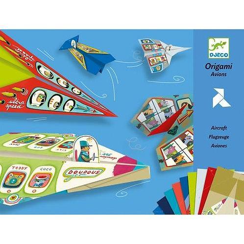 DJECO Origami Paper Planes
