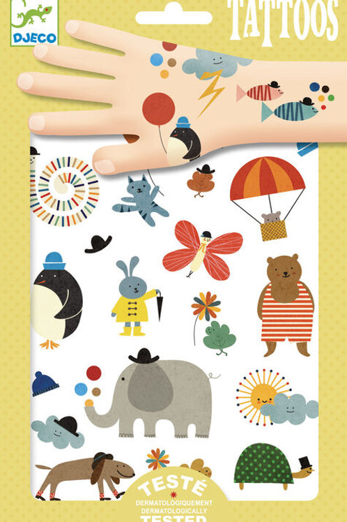 DJECO Temporary Tattoos - Pretty Little Things