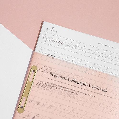 Modern Calligraphy Beginners Workbook