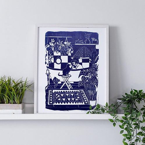 Bath-Time Limited Edition Print