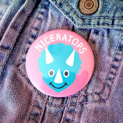 Badge - Niceratops Dinosaur