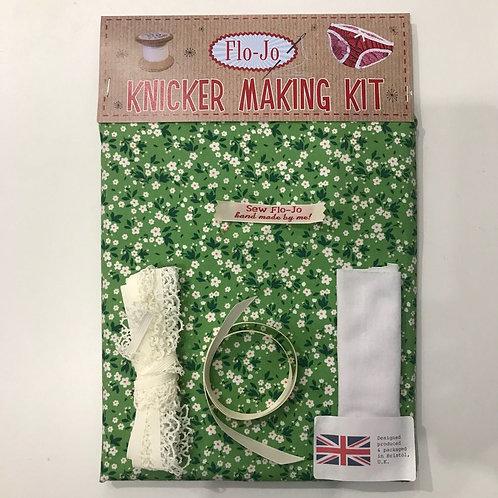 Emerald Floral Knicker Kit