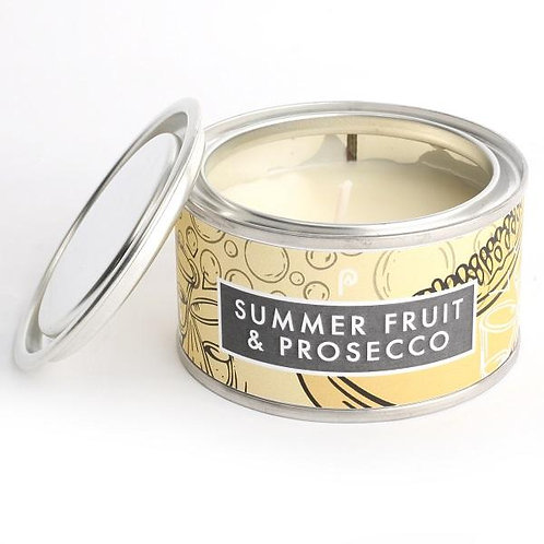 Summer Fruit and Prosecco Artisan Candle