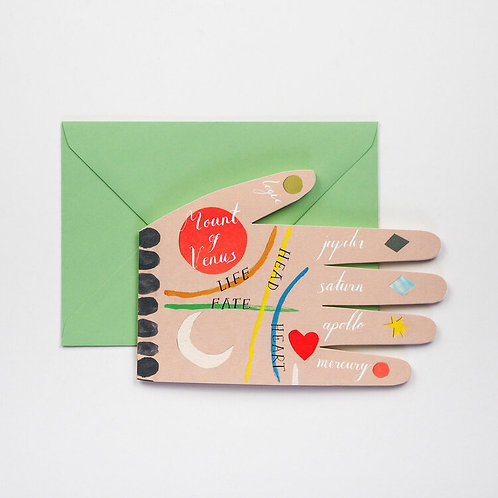 Palm Reading Card