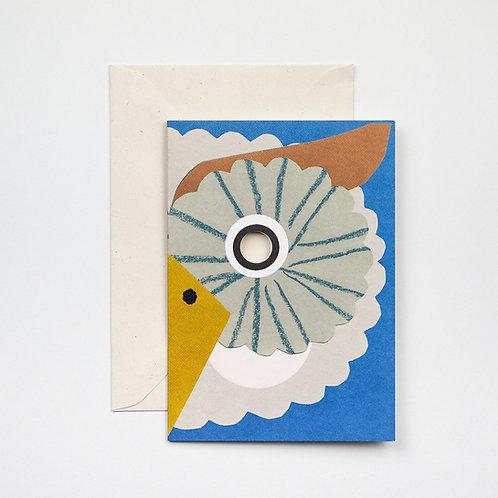 Owl Mask Card