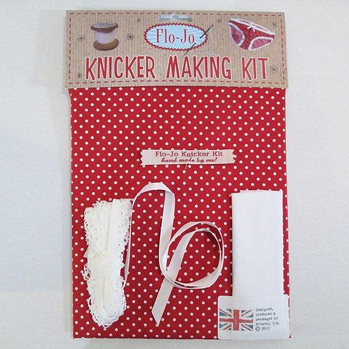 Red Polka Dot Knicker Making Set