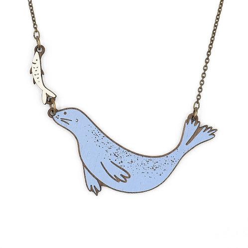 Happy Seal Necklace