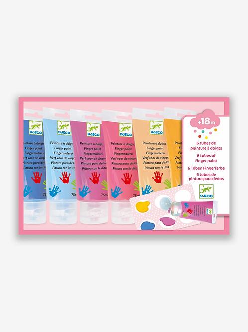 DJECO Finger Paint Set - Sweet Colours
