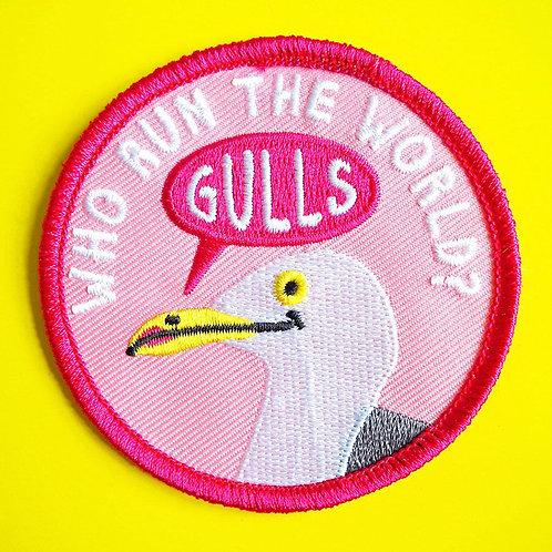 Iron on Patch - Who Run the World Gulls