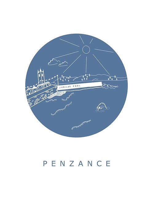 Penzance Postcard