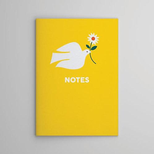 Yellow Dove Notebook