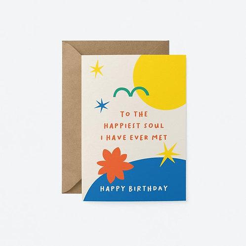 Happiest Soul Card