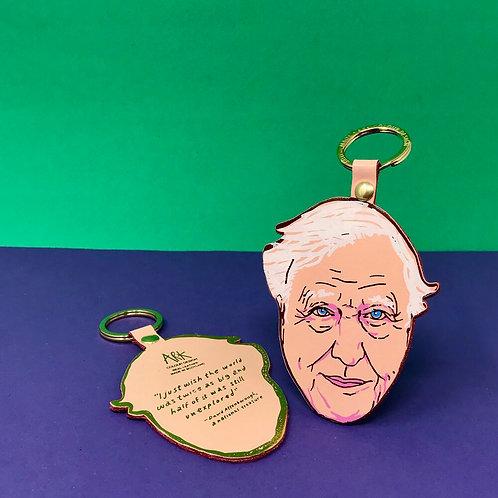 David Attenborough Key-Fob