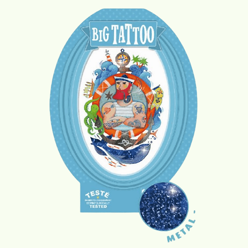 DJECO Big Temporary Tattoo - Sailor