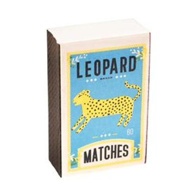 Leopard Matchbox Notepad
