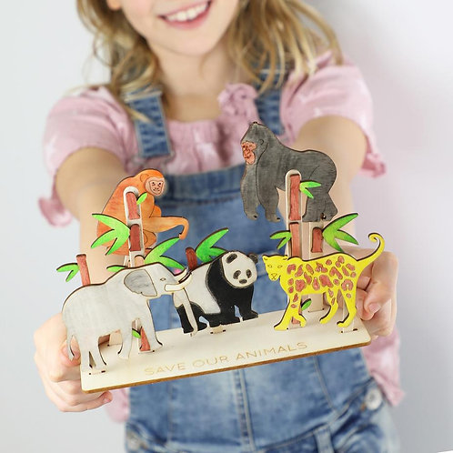 Save our Animals Activity Kit