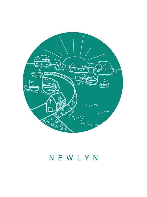 Newlyn Postcard