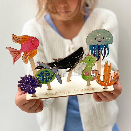 Save our Oceans Activity Kit
