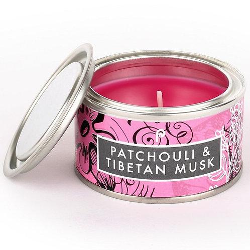 Patchouli and Tibetan Musk Artisan Candle