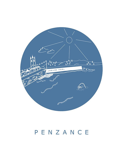 Penzance A4 Print