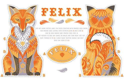Felix the Fox Tea Towel/Sewing Kit