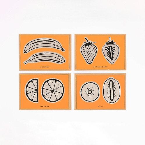 Fruit Recipe Cards
