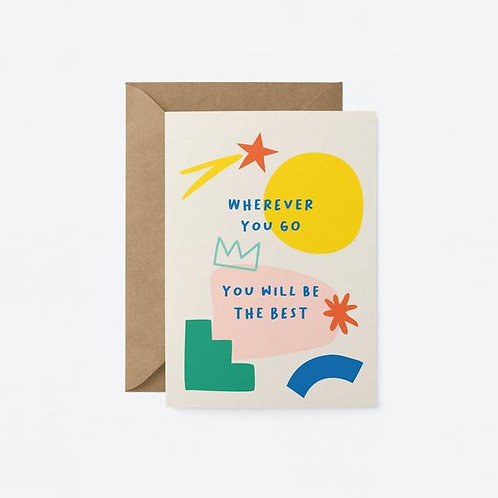 You Will Be The Best Card