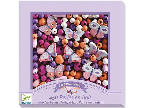 DJECO JewelleryWorkshop - Wooden Beads and Butterflies
