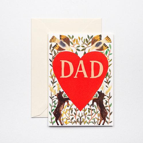 Dad Heart Card