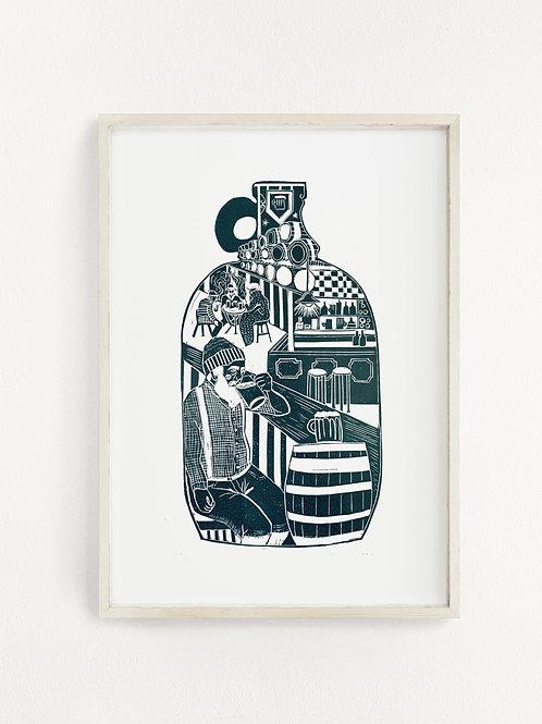 Drunken Sailor Print