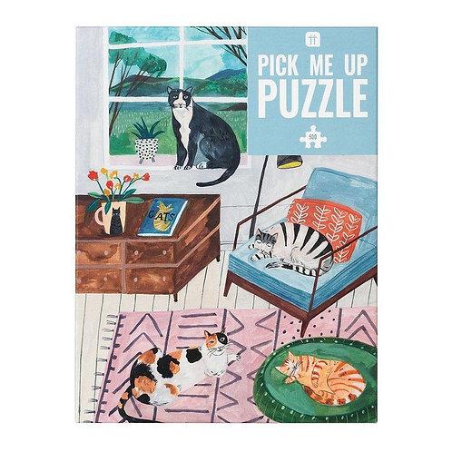 Cat Jigsaw Puzzle 500 Pieces