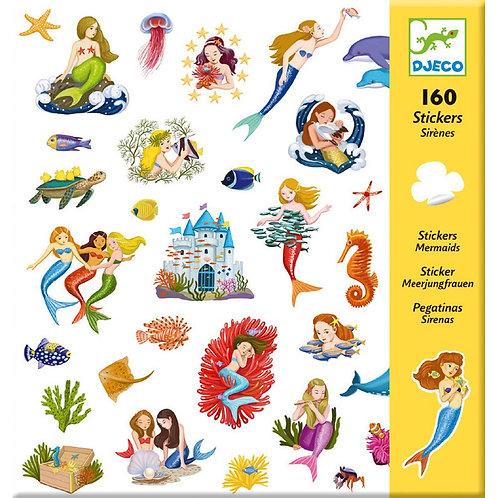 DJECO Sticker Set - Mermaids