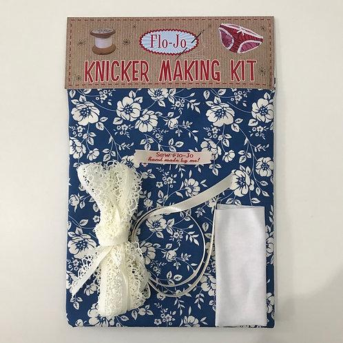 Blue Floral Knicker Kit